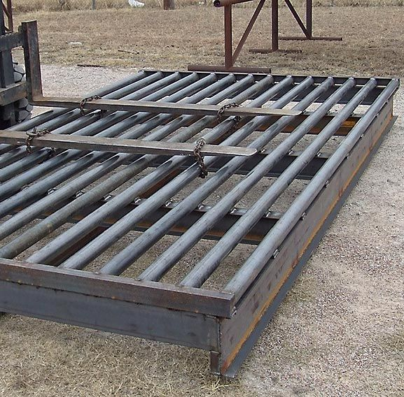 Heavy Duty Cattle Guard showing stabilizers and supports